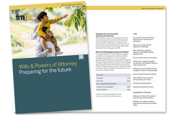 Wills & Power of Attorney Fact Sheet